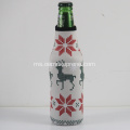 3mm Neoprene Beer Bottle Beverage Cooler Sleeve