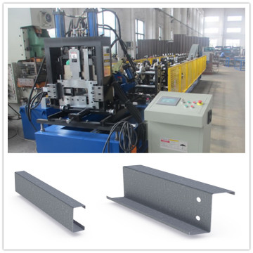 자동 조절 가능한 크기 CZ Purlin Roll Forming Equipment