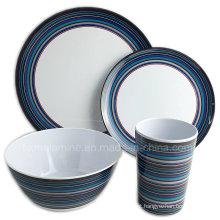 Melamina piquenique jantar ao ar livre conjunto (tz3506)