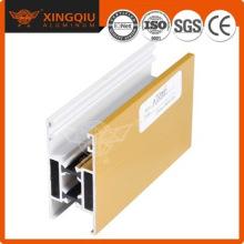 Perfil de estrutura de porta em alumínio de design elegante
