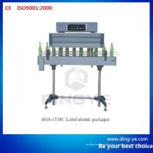 Etikettenschrumpfmaschine Bss-1538c