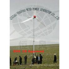 China baratos 10KW generador eólico, pequeña turbina de viento con costo