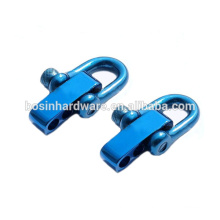 Fashion High Quality Metal Colorful Blue Stainless Steel Shackle