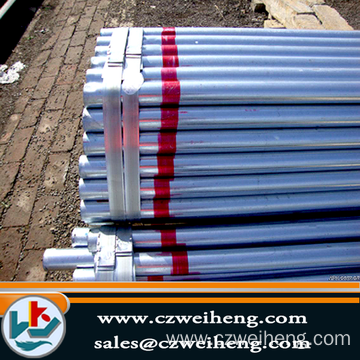 Bottom price for China Weld Steel Pipe, ERW Black Steel Pipe, Hot Dipped Galvanized Steel Pipe. Pre Galvanized pipe used in Greenhouse export to Kuwait Exporter