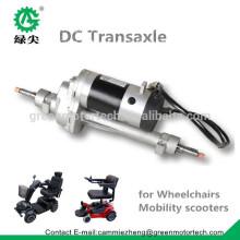 Kit de moteur de transaxle de 24V DC pour le scooter électrique de mobilité et le fauteuil roulant