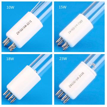 UV water disinfectant UVC germicidal lamp