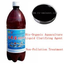 Agente de clarificación de líquidos de acuicultura bio-orgánica