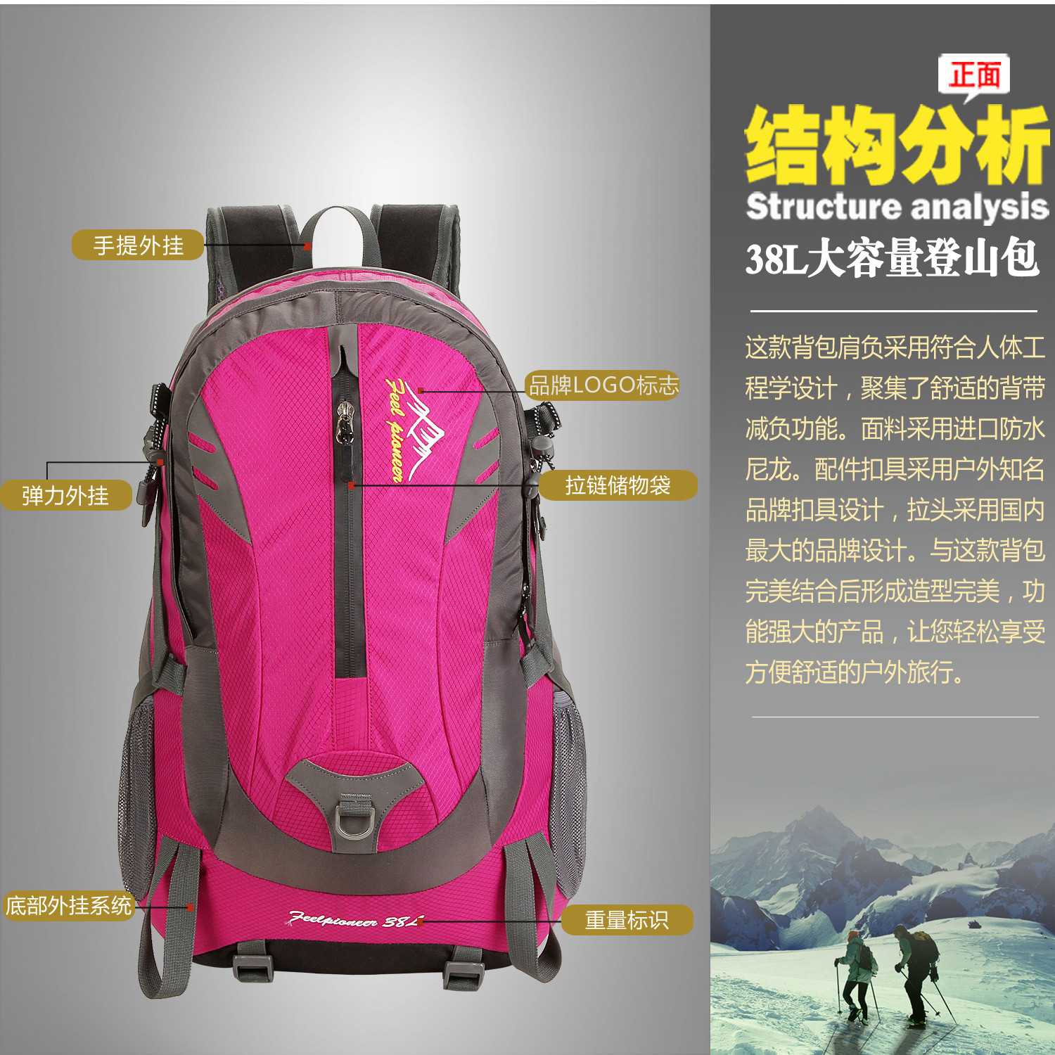 Backpack Waterproof bag