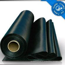 Feuille en caoutchouc imperméable d'EPDM / membrane de toiture / revêtement de bassin / revêtement de sous-sol