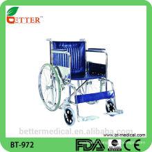 Elderly steel wheelchair