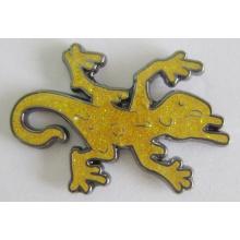 Fabricant professionnel broche en métal broche avec des paillettes (insigne-174)