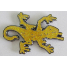 Professional Manufacturer Metal Brooch Lapel Pin with Glitter (badge-174)