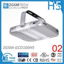 Lumière élevée de baie de 100W LED élevée avec le capteur de mouvement