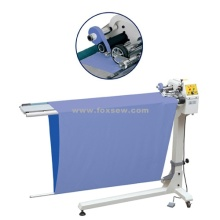 Automatic Cutting And Hem Embroidering Machine