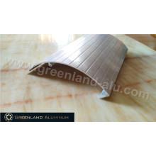 Perfil de cobertura de alumínio de proteção com processamento profundo