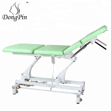 Chinese Cupping Aluminium Folding Physical Therapy Massage Bed