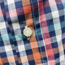 Online Sale Natural Cotton Long-sleeve Men's Casual Shirts