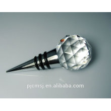 Wholesale durable crystal wine stopper for wedding favors