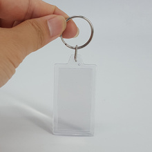 ODM for Chrome Metal Keychain Event Give Away Gift Custom Print Photo Keyring supply to Mauritius Wholesale