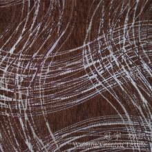 Chenille décorative de fil de polyester de tissu de sofa