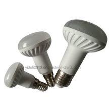 5W 400lm 120 ° Hecho de bombillas PA Material R50 LED