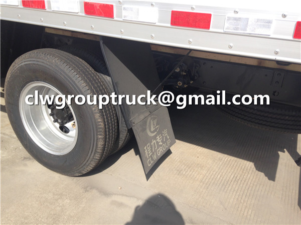 Medical Truck Tire and Spare One