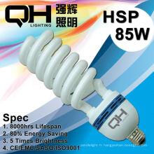 85W T5 haute puissance moitié spirale AC220V-240V/110-130V
