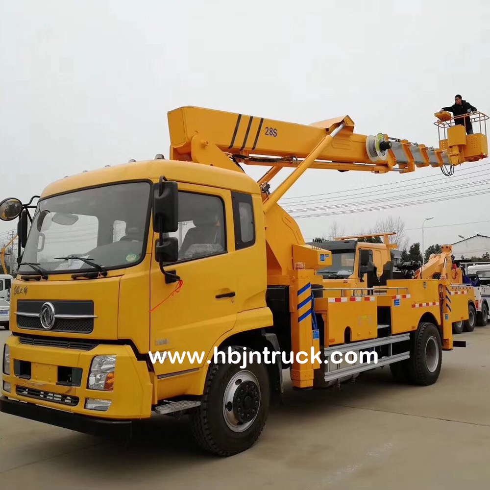 Vehicle Mounted Boom Lift