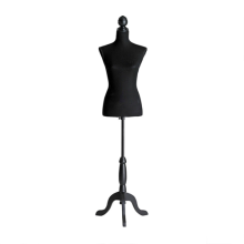 large  Black fabric mannequin