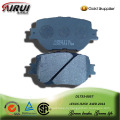 SEMI-METALLIC CAR BRAKE PAD FOR LEXUS IS250  AWD 2014