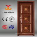 Luxury steel exterior wood armoured door
