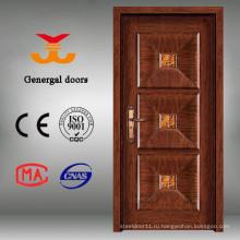 70мм роскошные стали деревянные виллы передний брус безопасности двери