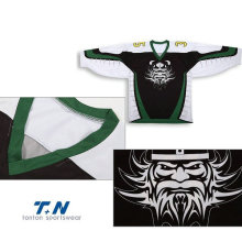 Jerseys por encargo del hockey sobre hielo Sublimation / Tackle Twill / Hockey Bordado Jersey de hockey de encargo