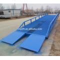 Rampa de muelle movible del contenedor / rampa de carga hidráulica para Warehouse