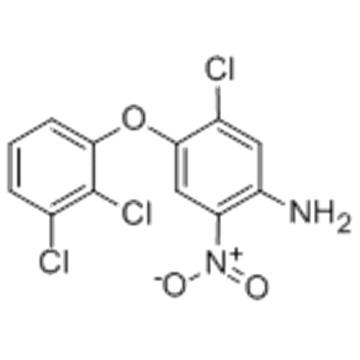 Benzenamine,4-chloro-5-(2,3-dichlorophenoxy)-2-nitro- CAS 118353-04-1