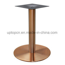 Titanium Surface Stainless Steel Table Base for Reataurant (SP-STL126)