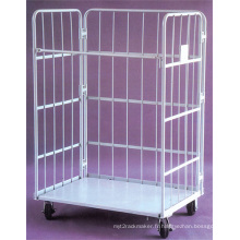 Wire Mesh Cage stockage avec roue (SLL07-L005)