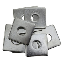 Complete Specifications And Customizable Galvanized Metal Square Washer  For Canadian Market