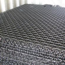 Malha de arame frisada de aço manganês