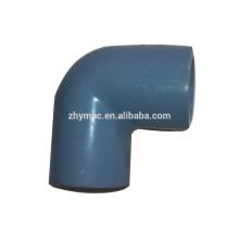 ПВХ локоть арматура, арматура трубы ПВХ sch80, 3-дюймовый ПВХ фитинги