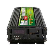 Inversor de UPS portátil práctico de aspecto negro 600 vatios