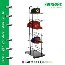 6 tiers baseball cap display rack