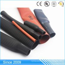 Tuyauterie à hautes températures de douille de rétrécissement de la chaleur de caoutchouc de silicone pour le câble