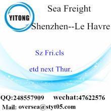 ميناء شنتشن الشحن البحري الشحن إلى لوهافر