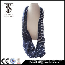 Fresh color stars and stripe pattern jersey shawl for women use