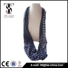 Frische Farbe Sterne und Streifen Muster Trikot Schal für Frauen verwenden