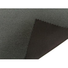 Nylon Polyester Brushed Check Fabric