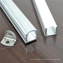 barre de logement de LED de lumière de bande menée de profil en aluminium