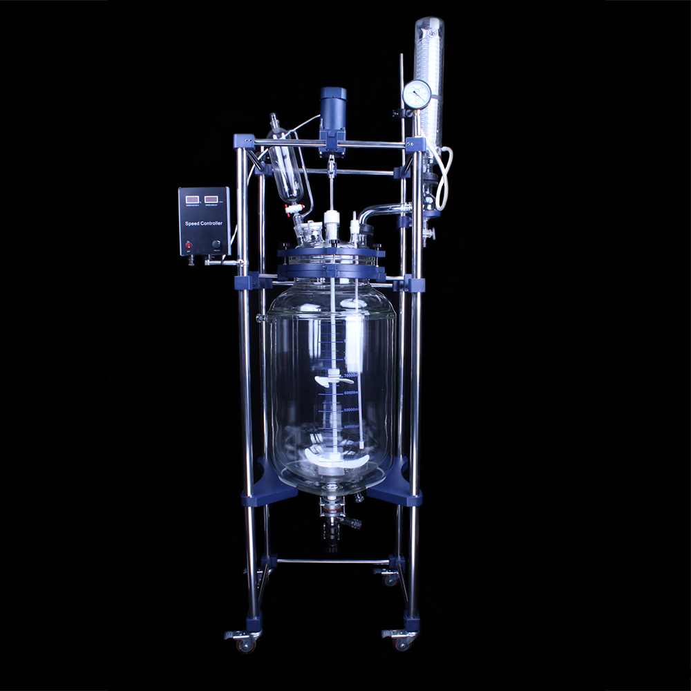 chemical glass reactors
