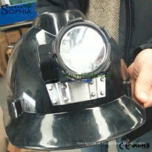 Farol de chumbo, farol de diodo emissor de luz, luz de acampamento do diodo emissor de luz, luz da caça, luz do tampão, luz de mineração, farol sem corda